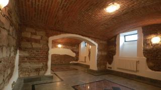 Kancelářské prostory v cihlovém domě po rekonstrukci