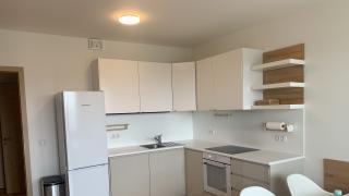 Nabízíme k pronájmu kompletně zařízený, prostorný byt 1+kk, s balkonem.